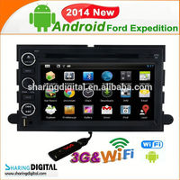 Car gps navigaiton Support Mirror-Link for FORD car navigation system