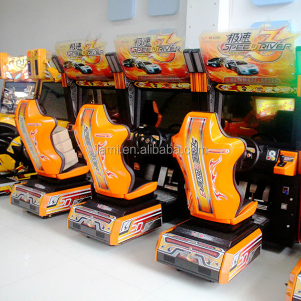 Speed Racer - Coin Operated Amusement Arcade Video Game Driving Racing Simulator racing game Machine
