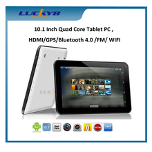 2014 newest 10inch tablet pc mtk8127 quad Core Android 4.4 built in GPS