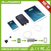 Allpowers Portable Solar Chargers for Mobile Phone Solar Backup Power Bank for iphone HTC Samsung etc.