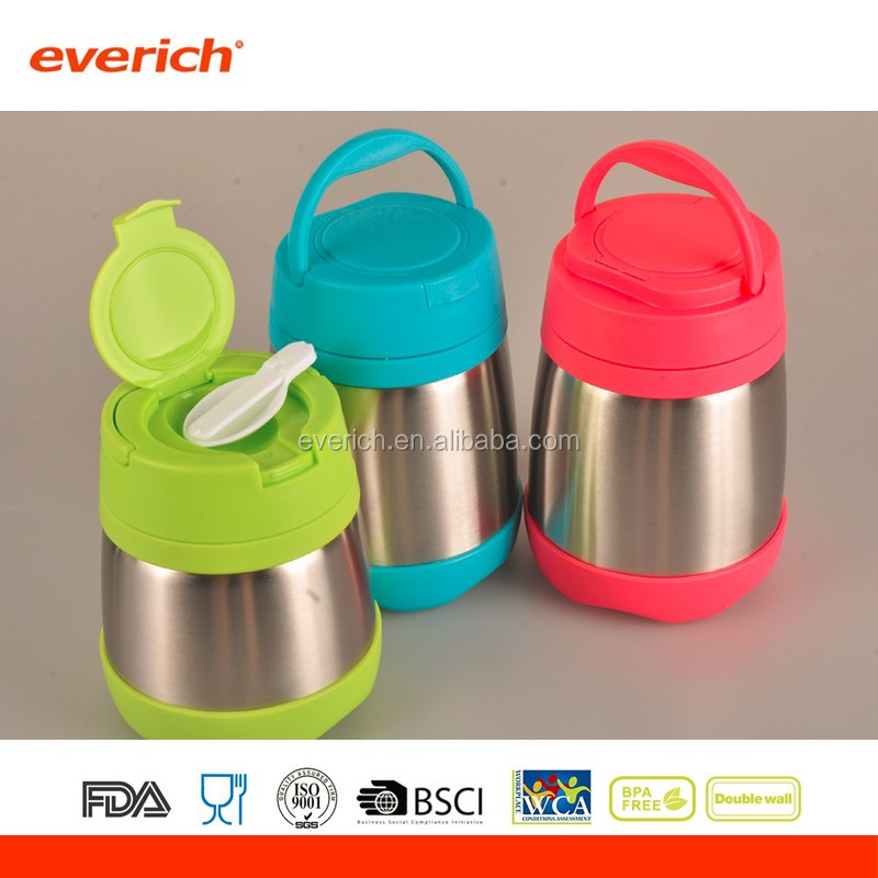 Vacuum Insulated stainless steel lunch box for kids