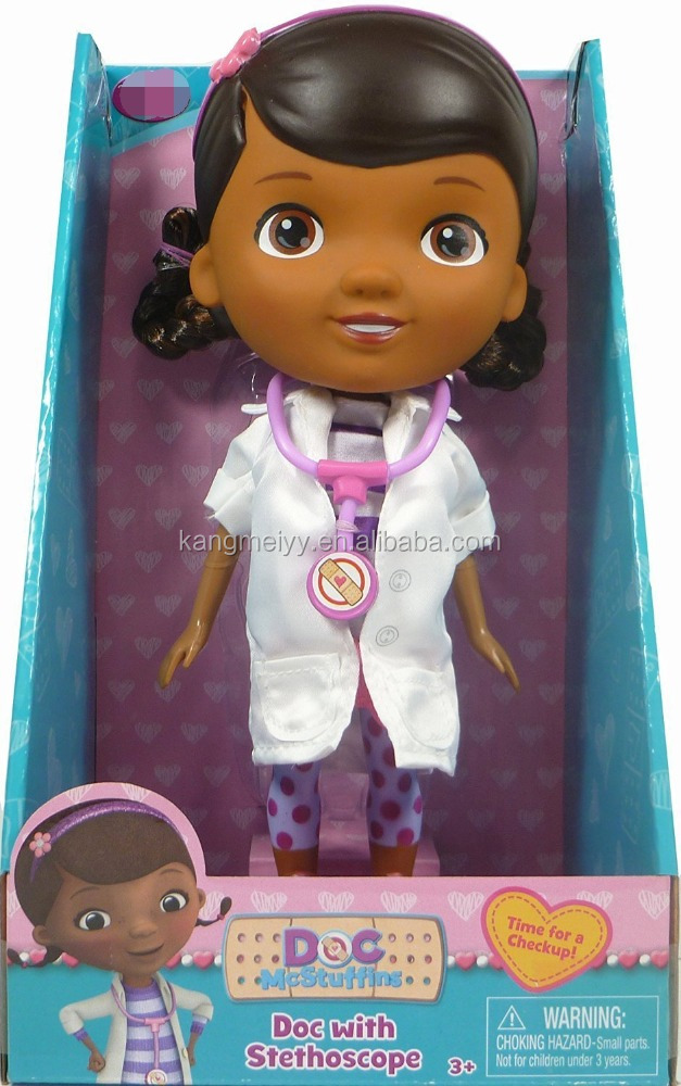Doc Mcstuffins Doctor Outfit with Stethoscope Exclusive Doll