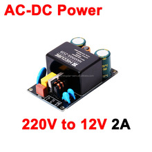 AC-DC Converter AC 110V 220V to DC 5V / 6V / 9V / 12V / 15V / 20V / 24V 12V 2A Switching power supply DEMO board with EMC EMI