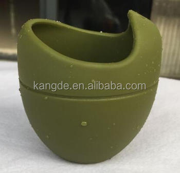 Yerba Mate Gourd with bombilla/Silicone Drinking Cup With Straw/Silicon Tea Cup for Yerba Mate