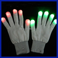 Glovion Best selling Black led glowing gloves with led lights