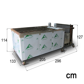 2 Ton High Production Containerized Block Ice Making Machine