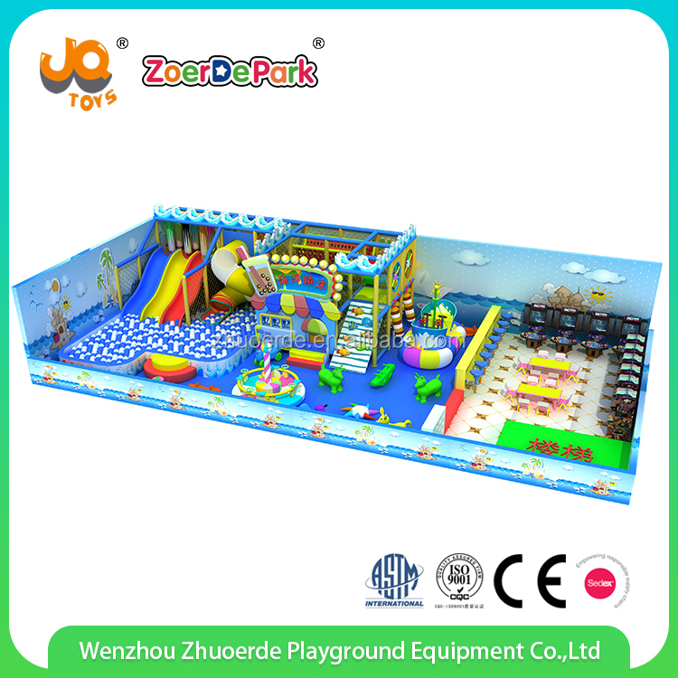 Wenzhou Design Attractive Indoor Toddler Soft Play Area Indoor Playgrounds manufacturer for Kids