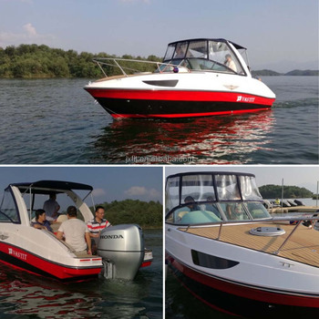 China Factory High Quality 24ft Cabin Cruiser Boat for sale