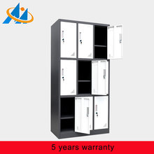 Steel Office Furniture Steel Nine Door Cabinet Clothes Locker