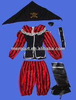 Hot selling Nice Children pirate Costumes for Kids halloween costumes