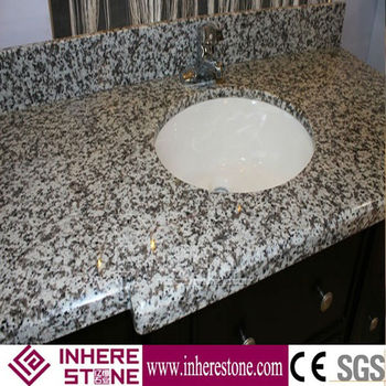 G439 one piece bathroom sink and countertop