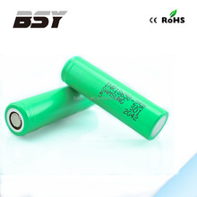 LOW MOQ! Authentic 18650 battery from Samsung, Samsung INR18650-25R 2500mah 3.7v battery Samsung 25R 20A battery