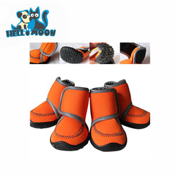 Customized Candy Color Fashion Neoprene Waterproof Large Pet Dog Shoes