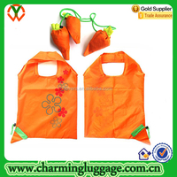 Carrot Fruits Shaped foldable shopping bag