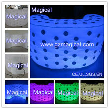 illuminated party LED inflatable bar table