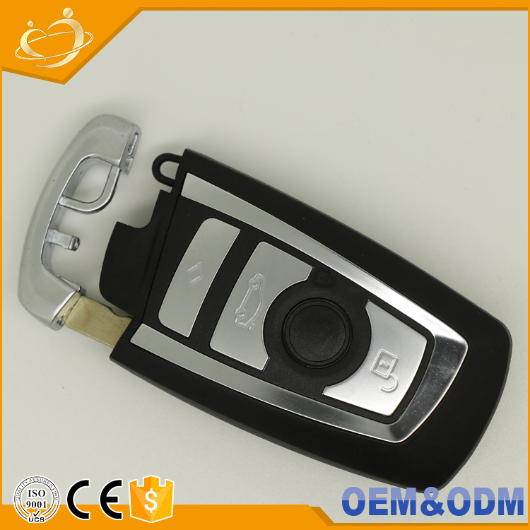 High quality key shell blank smart 4 Buttons car key case for BMW M1 M2 M3