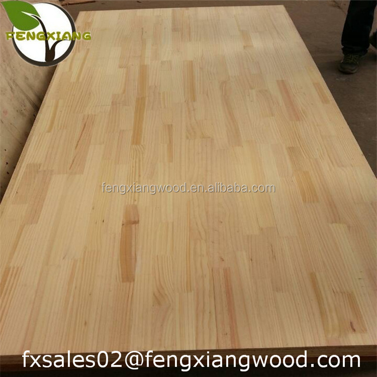 radiata pine finger joint board/finger joint panel