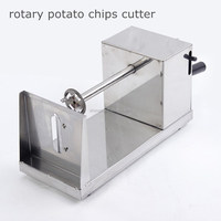 2015 new products Natural rotary potato tower crane potato cutter