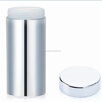 13oz/380ml silver chromed /metallized HDPE plastic pill bottle manufacturers