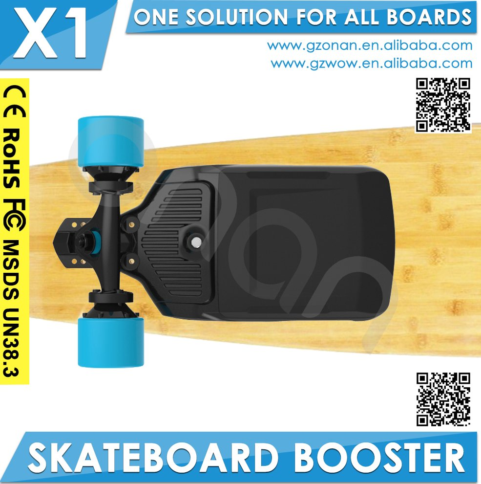 ONAN booster make your skateboard to be off road board