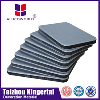 Alucoworld manufacturer stainless steel aluminum composite panel ceiling acp sheet