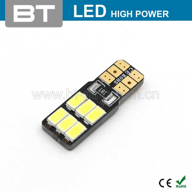 High Brightness Strong Canbus T10 Smd5730 Auto Led Bulbs Light