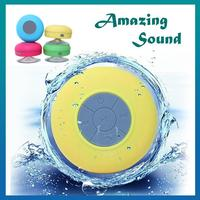Bluetooth Mini Speaker Portable Waterproof Wireless Bluetooth speakers with Suction Cup ip4 speaker Shower Car Handsfree Receive