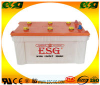 truck battery / DRY N200 12V200AMP/storage/lead acid battery