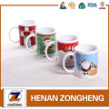 Ceramic coffee cups christmas souvenir mugs wholesale