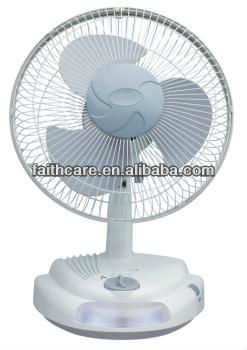 SUNCA AC/DC Rechargeable Oscillating Fan SF-296A