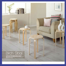 bentwood simple round stool