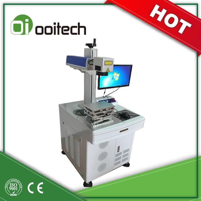 Raycus 20w/30w/50w Fiber Jewelery engraving machine metal Laser Marking Machine