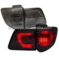 For TOYOTA Fortuner 2011 to 2014 year LED tail lamp Fortuner tail light smoke black Color SN