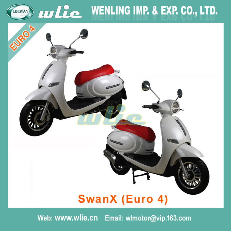 2018 New znen hot sell motorcycle gas scooter 50cc fosti vespa revival electric SwanX 125cc (Euro 4)
