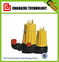AS 5hp Pump Submersible Pumps For Raw Sewage Pump With Cutting