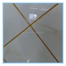 Waterproof golden tile grout for joints