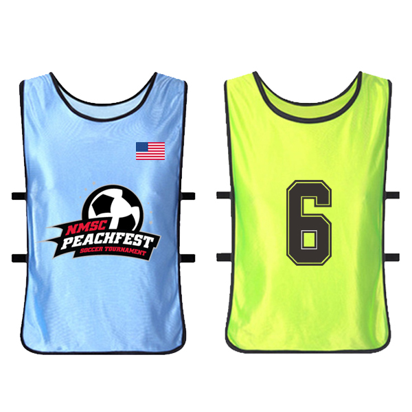 Team Soccer Bibs Kit Soccer Football Training Vest Bibs