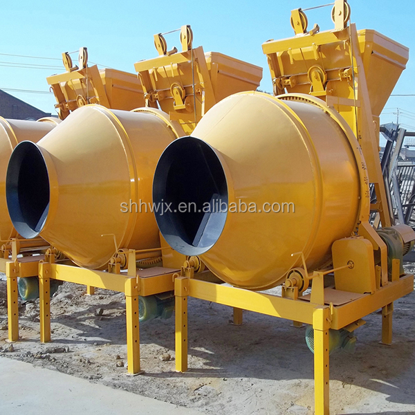 Hot Sale Diesel Portable Mini Construction 350L Concrete Cement Mixer Machine