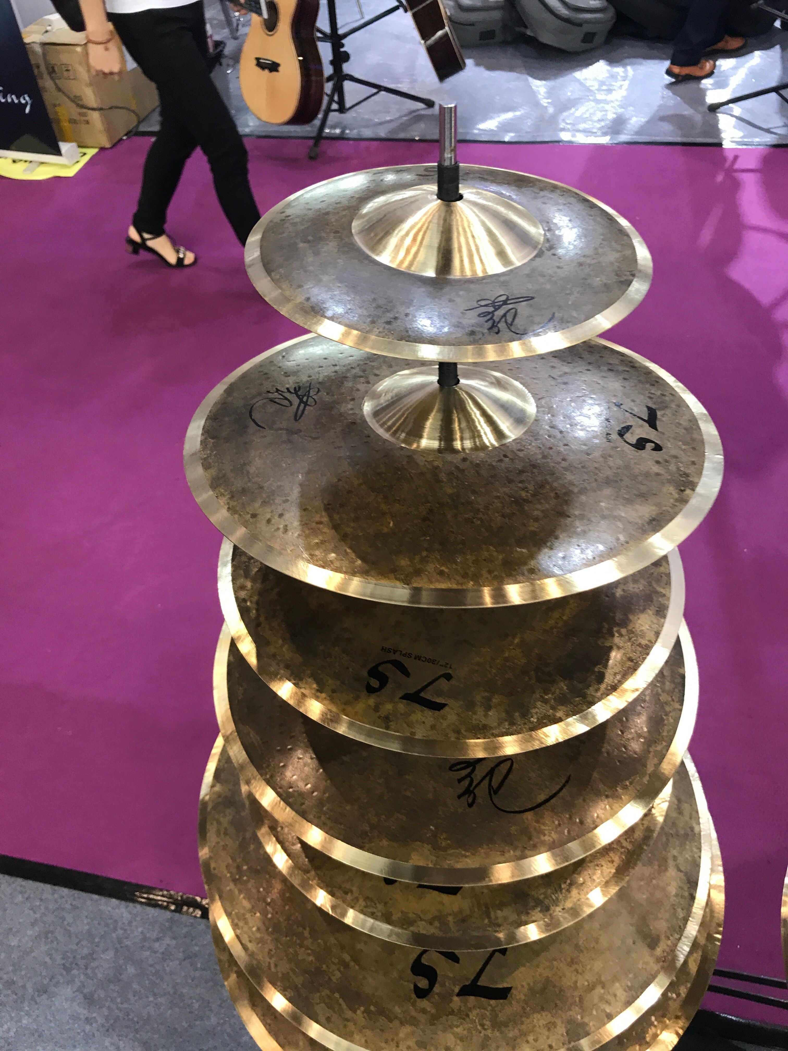 cymbals b20 thinner cymbals for percussion musical instruments