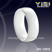ferrite ceramic ring magnet, match silver and diamond ceramic ring