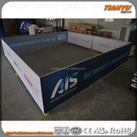 20ft 30ft Custom made aluminum fabric exhibition booth