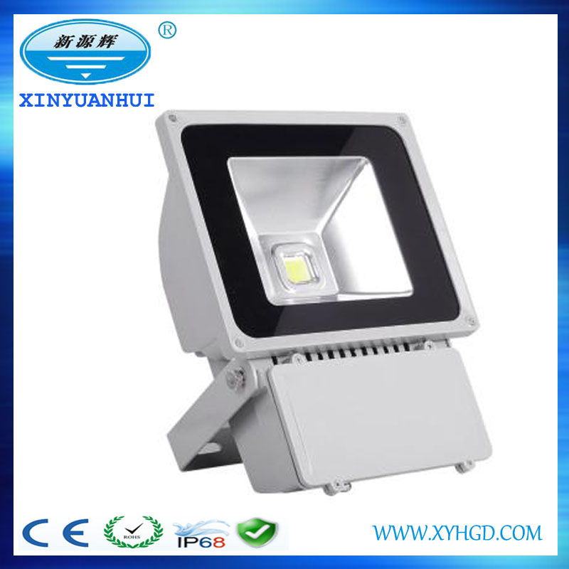 Aluminum portable outdoor 20w 30w rechargeable led flood light