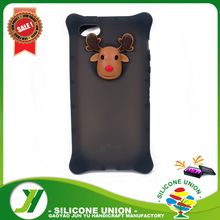 Wholesale high quality 3d silicone phone case,phone cover