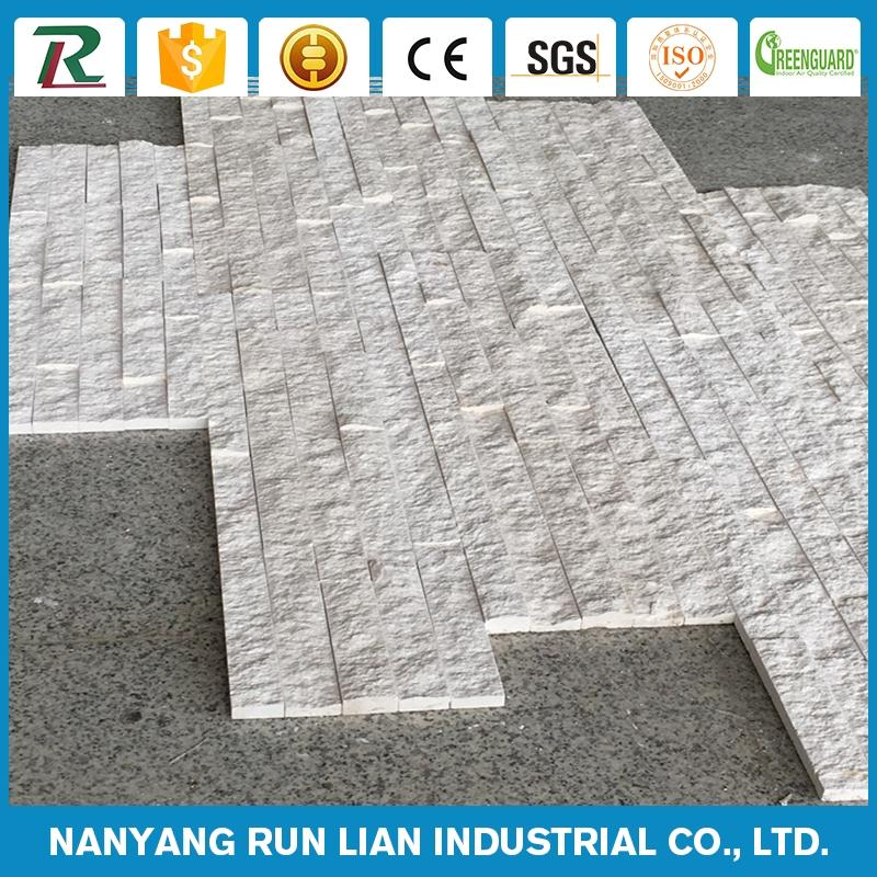 Hot selling fire brick rock face wall stone exterior wood panels with low price