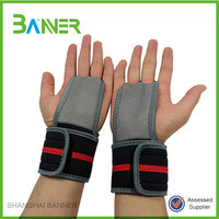 Design weight power training wrist protection Custom anti slip lifting straps