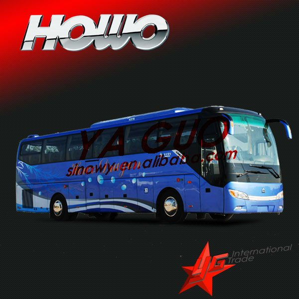 Howo 2012 JK6127HK tourist bus better than kia granbird bus