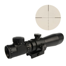 3-9X42EG Rifle scope Red/Green Illuminated Angled Integral Sunshade Hunting Rifle Scope with 20mm Quick-Detachable Mount