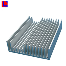 Large Aluminum Extruded Heat Sink for Power Amplifier Custom Manufacturer