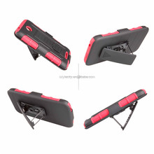 Hybrid PC+Silicon Case with Kickstand for HTC Desire 510