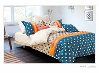 100% Cotton 12868 American style Bedding set stars beddings